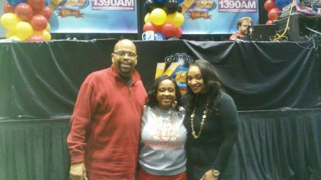 Doug Banks and Dee Dee Renee from V103