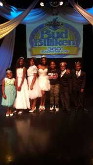 Lizzie G and the 2015 Bud Billiken Parade Royal Court