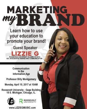 LIZZIE G MARKETING MY BRAND FLIER