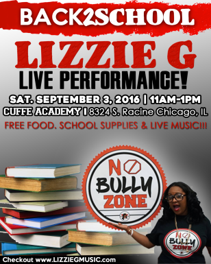 LIZZIE G BACK 2 SCHOOL FLIER